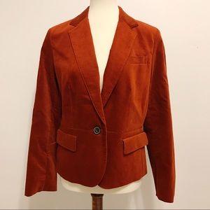 NWT Talbots Burnt Orange Blazer 14 Petite